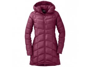OUTDOOR RESEARCH Women's Sonata Ultra Down Parka, Raspberry (velikost XS)