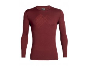FW19 BASELAYER MEN 200 OASIS LS CREWE SNAP HEAD 104711616 1