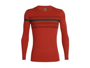 FW19 BASELAYER MEN 200 OASIS LS CREWE HERITAGE STRIPE 104712601 1