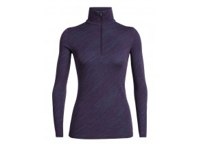 FW19 BASELAYER WOMEN 250 VERTEX LS HALF ZIP SNOW STORM 104718508 1