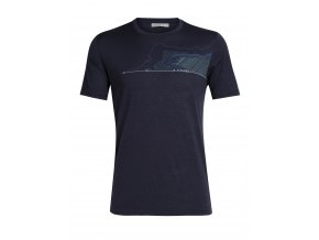 FW19 ADVENTURE MEN TECH LITE SS CREWE GLACIAL LINES 104727401 1
