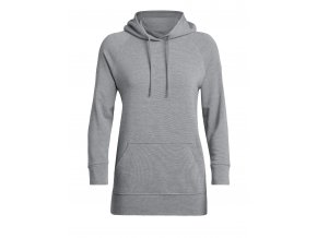 FW19 TRAINING WOMEN MOMENTUM HOODED PULLOVER 104892014 1