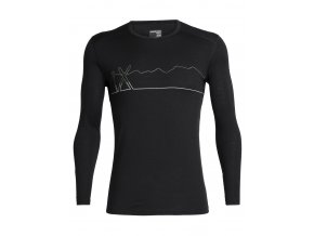 FW19 BASELAYER MEN 200 OASIS LS CREWE SINGLE LINE SKI 104898001 1