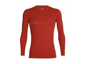 FW19 BASELAYER MEN 200 OASIS LS CREWE SINGLE LINE SKI 104898601 1