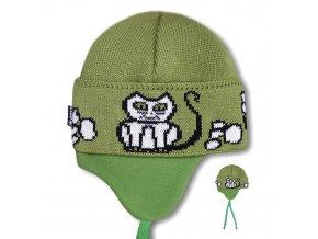KAMA Dětská pletená čepice Kama B03