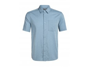 ICEBREAKER Mens Compass SS Shirt, Waterfall