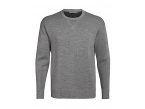 ICEBREAKER Mens Nova Sweater Sweatshirt, Gritstone HTHR
