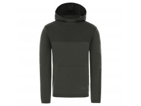 THE NORTH FACE M Active Trail E-Knit Hoodie, New Taupe Green