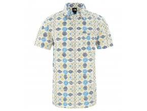 THE NORTH FACE M S/S Baytrail Pattern Shirt, Vintagewhitesonglinesprnt