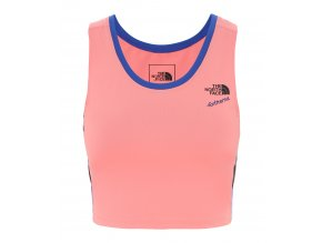 THE NORTH FACE W '90 Extreme Knit Tank, Miami Pink Combo
