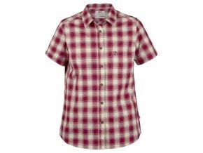 7323450313982 SS18 a oevik check shirt ss w 21