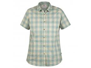 7323450313999 SS18 a oevik check shirt ss w 21