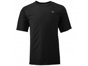 OUTDOOR RESEARCH Men'S Echo Tee, Black/Charcoal (velikost L)
