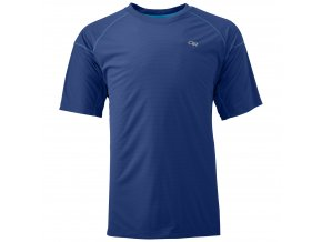 OUTDOOR RESEARCH Men'S Echo Tee, Baltic/Glacier (velikost L)