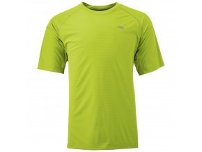 OUTDOOR RESEARCH Men'S Echo Tee, Lemongrass/Pewter (velikost M)