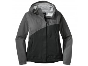 OUTDOOR RESEARCH Women's Panorama Point Jacket, Charcoal Herringbone/black (velikost XS)