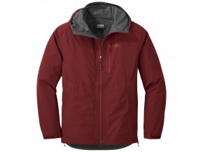 OUTDOOR RESEARCH Men's Foray Jacket, Firebrick (velikost S)