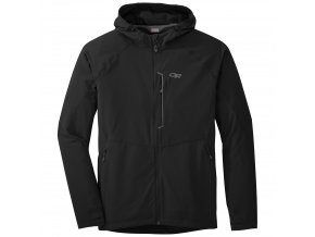 OUTDOOR RESEARCH Men's Ferrosi Hooded Jacket, Black (velikost XXL)