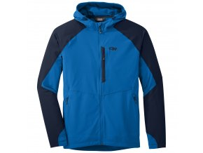 OUTDOOR RESEARCH Men's Ferrosi Hooded Jacket, Glacier/Night (velikost XXL)
