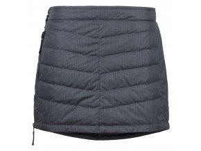 SKHOOP Prošívaná zimní péřová sukně Down Mini, greypattern