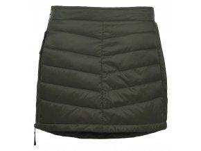 SKHOOP Prošívaná zimní péřová sukně Down Mini, olive