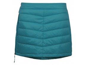 SKHOOP Prošívaná zimní péřová sukně Down Mini, lagoon