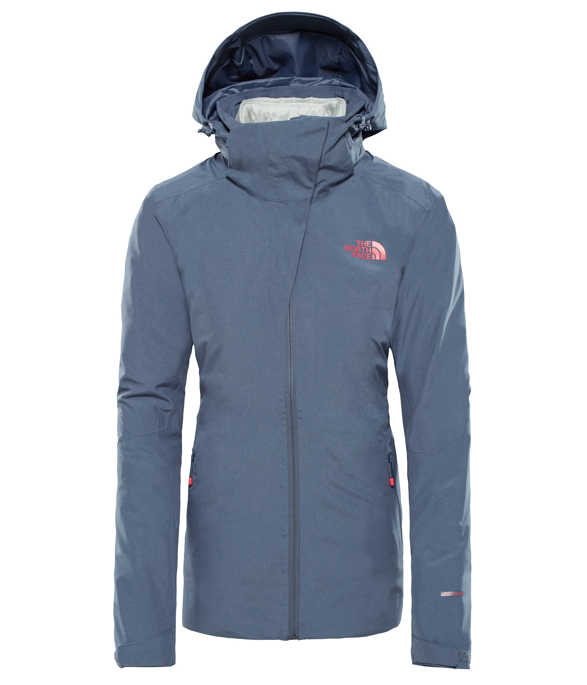 THE NORTH FACE W INLUX TRICLIMATE® - OD, GRISAILLE GREY velikost: M