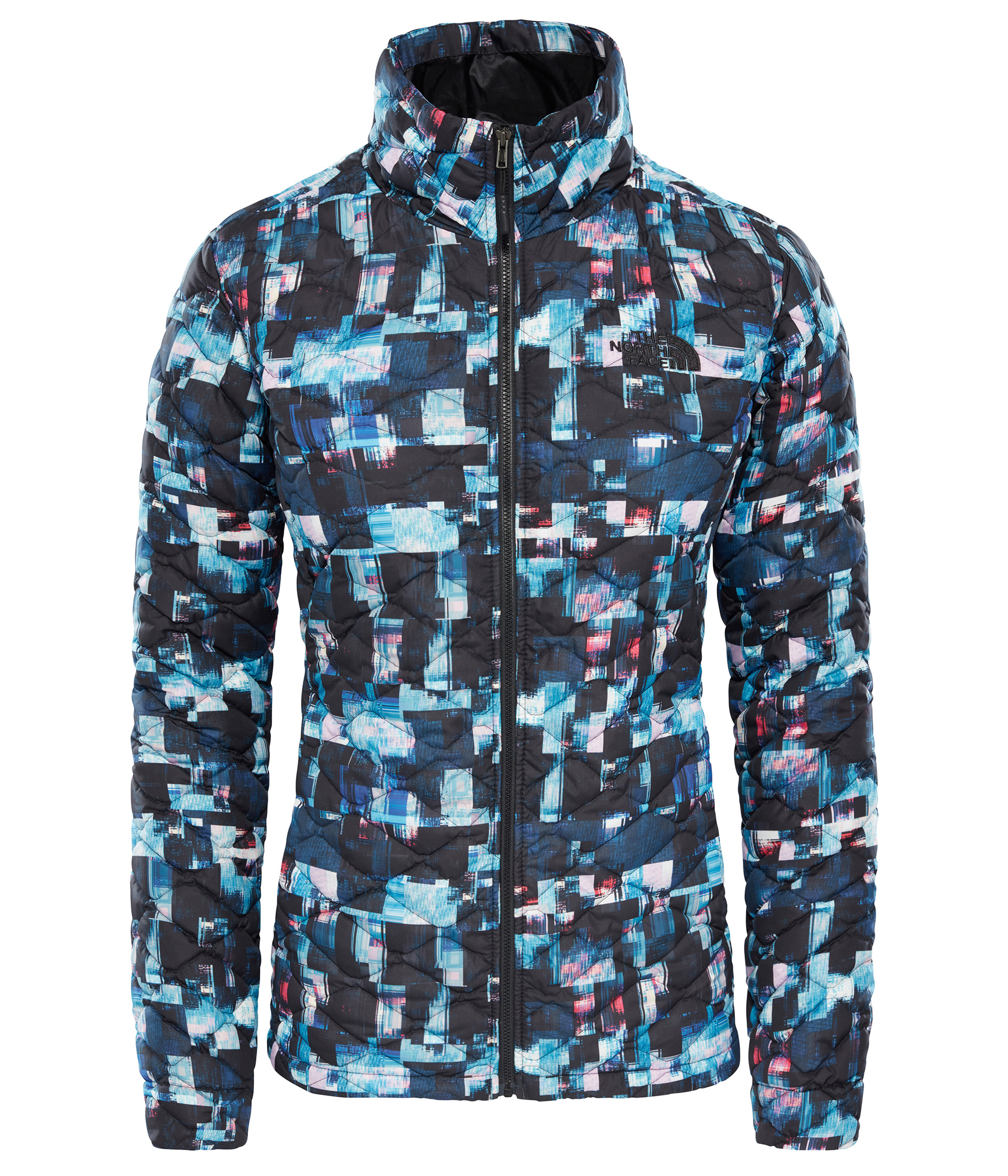 THE NORTH FACE W THERMOBALL™ JACKET, MULTI GLITCH PR velikost: M