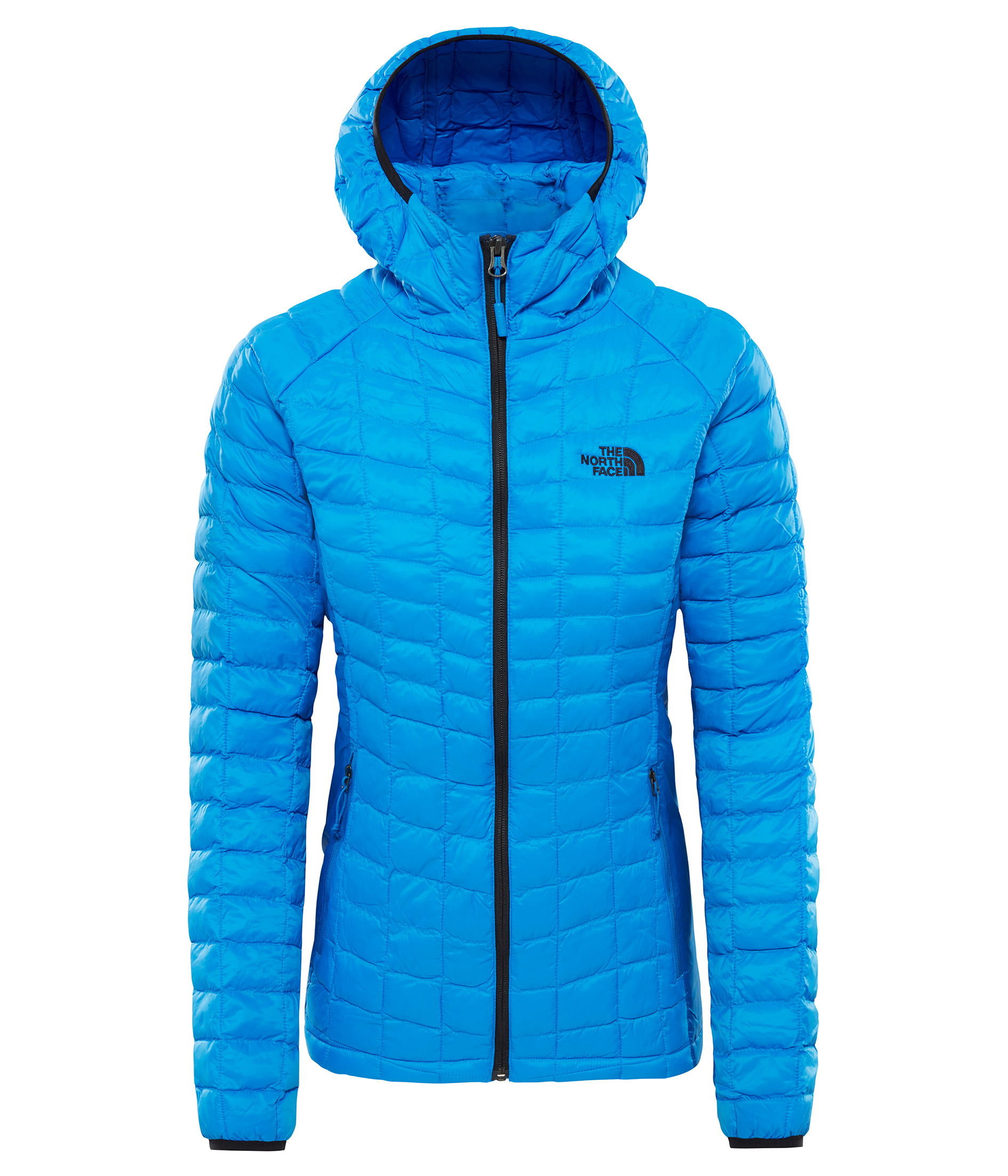 THE NORTH FACE W THERMOBALL™ SPORT HOODIE, BOMBER BLUE/TUR velikost: M
