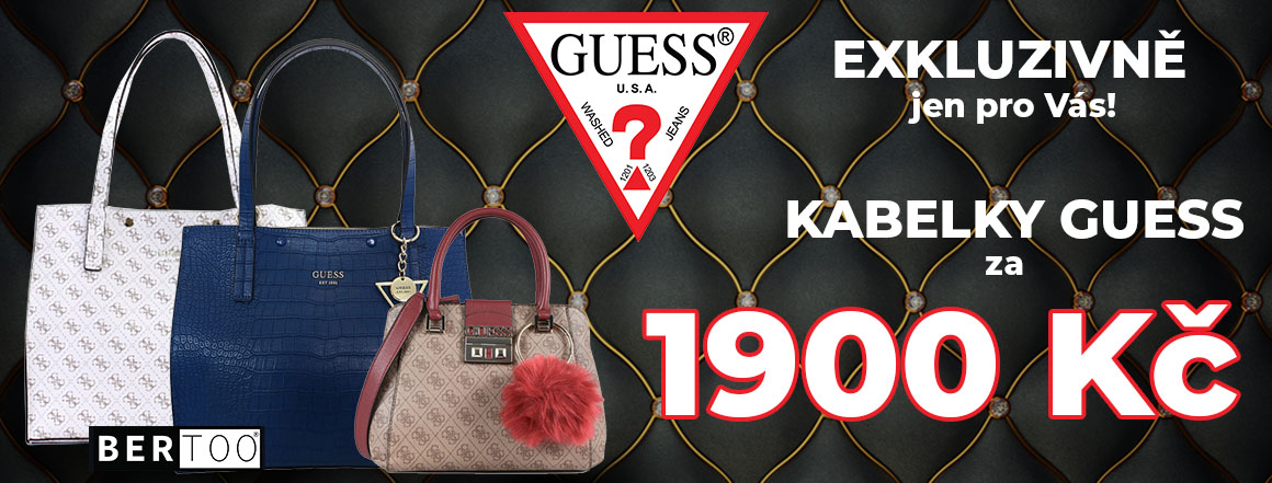 Kabelky GUESS 1900,-