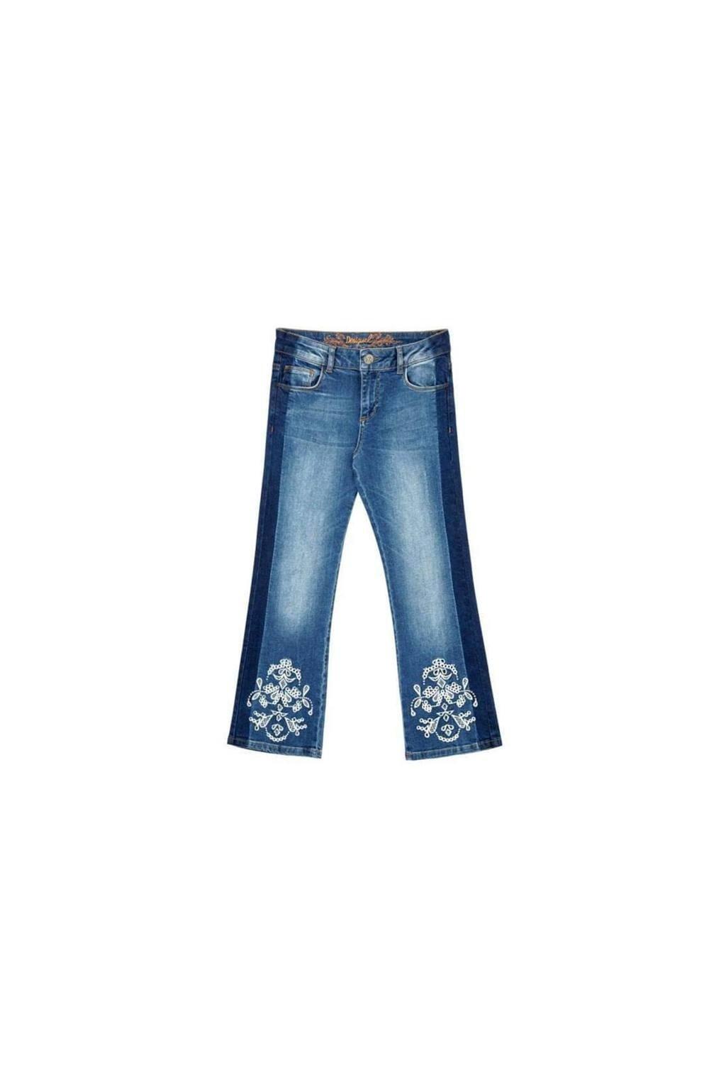 Dámské kalhoty Desigual 18SWDD36/5053