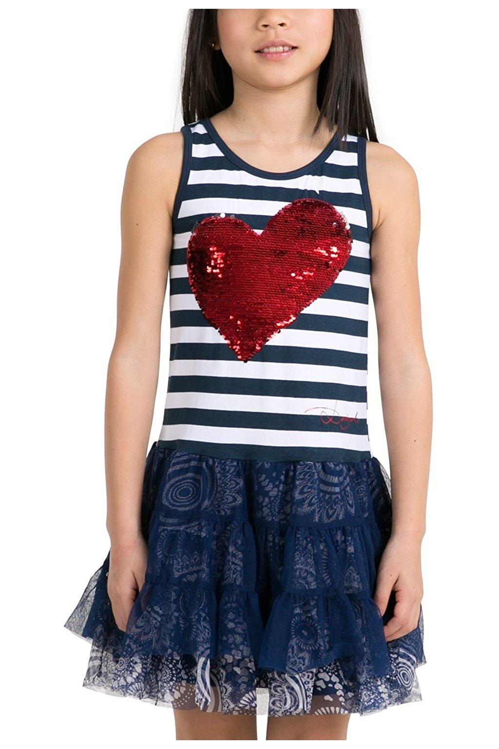 Dětské šaty Desigual 55V32H0/5001