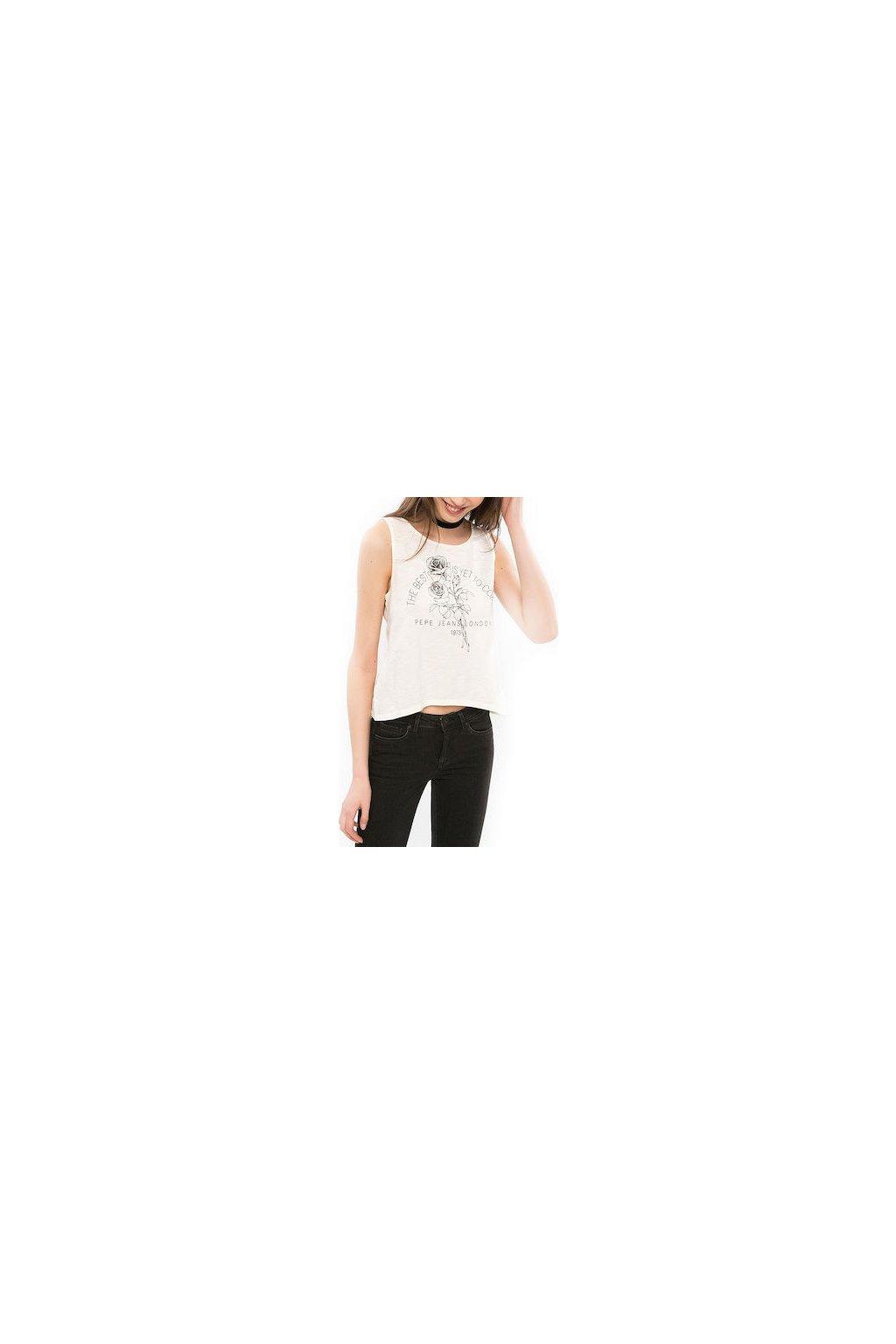 Dámské tričko Pepe Jeans PL502574 LINDSAY