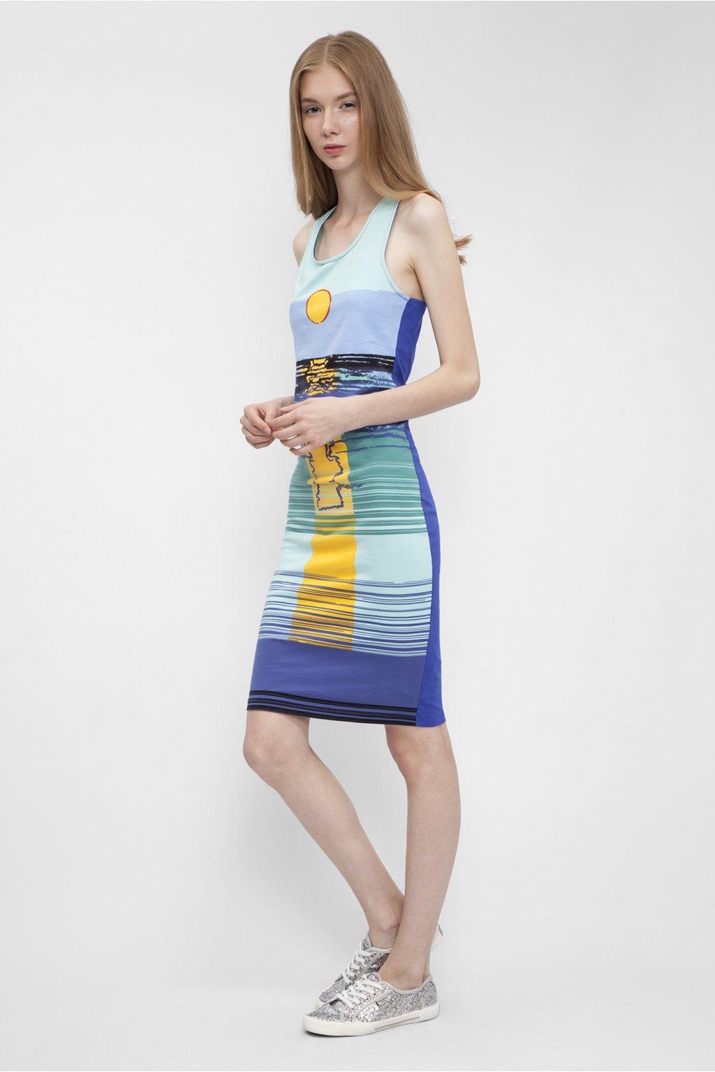 Dámské šaty Pepe Jeans AL950183 SUNSET