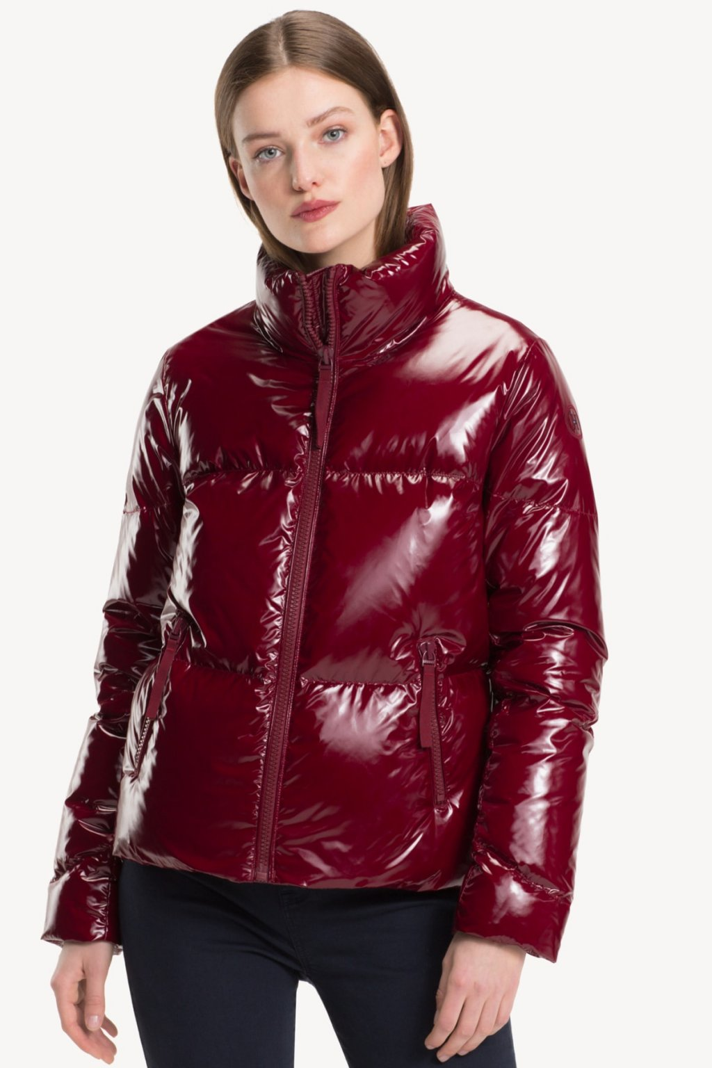 Hnědý dlouhý kabát Desigual - BERTOO - Outlet levně a073e558112