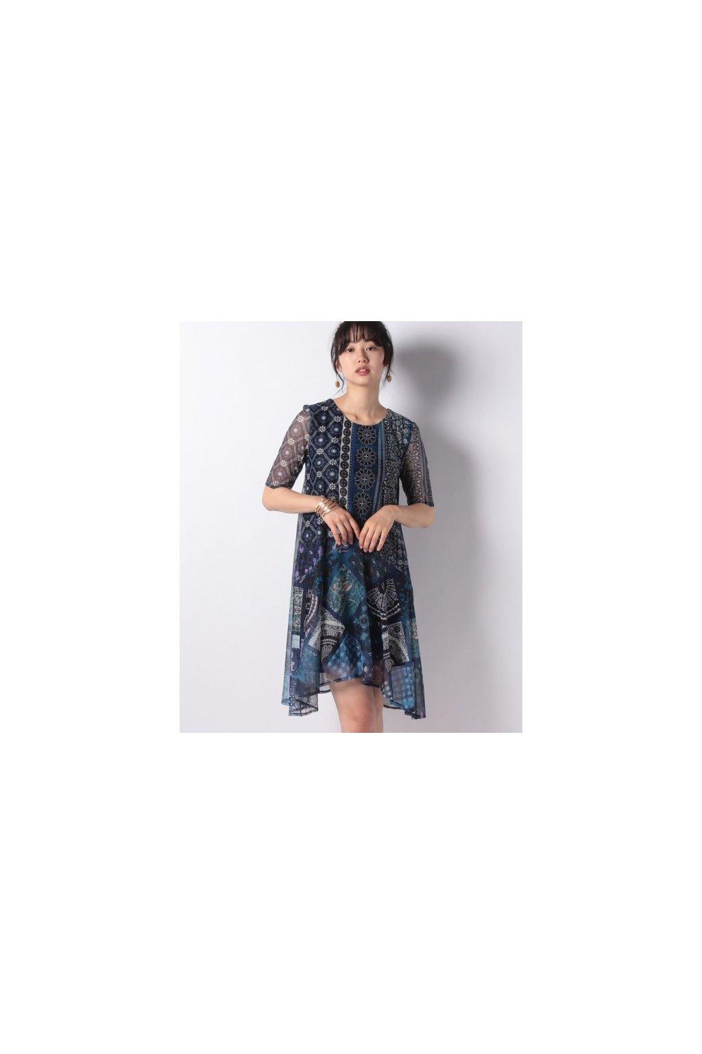 Dámské šaty Desigual 19SWVKXJ/5001