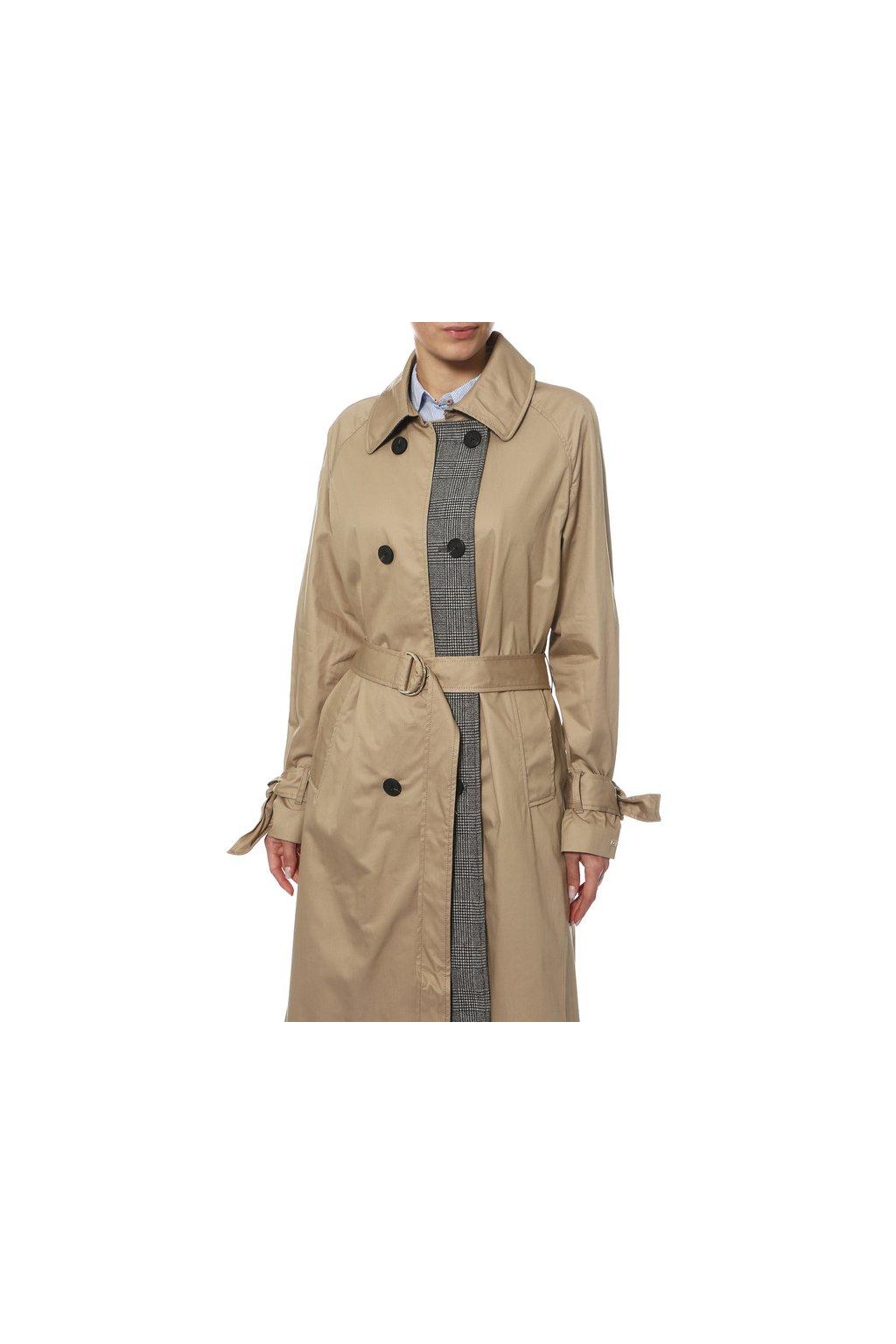 383a7570fc4 Stříbrná bunda s černým lemem Kelly by Sissy de Monte Carlo - Outlet ...