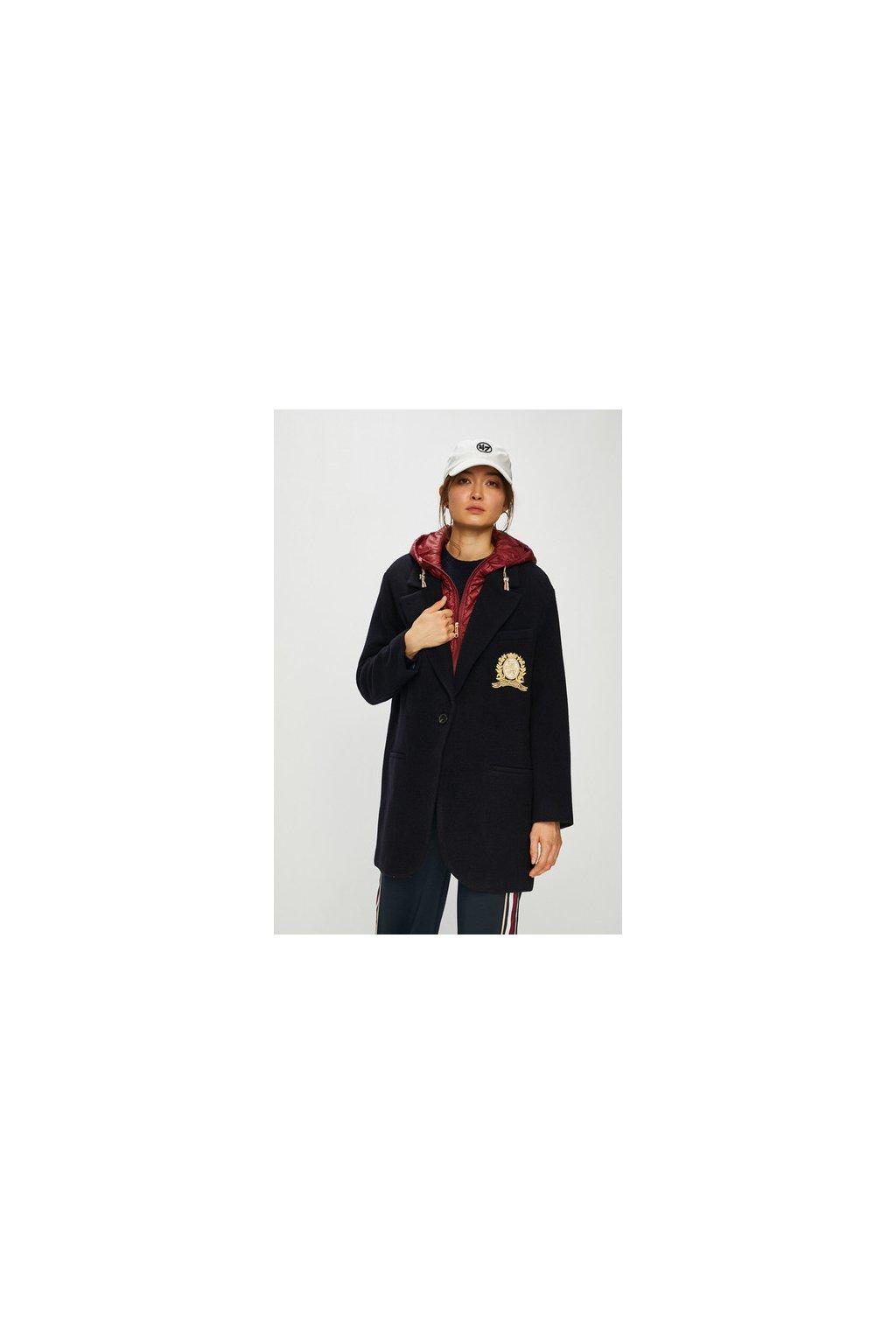 Dámský kabát Tommy Hilfiger WW0WW24146