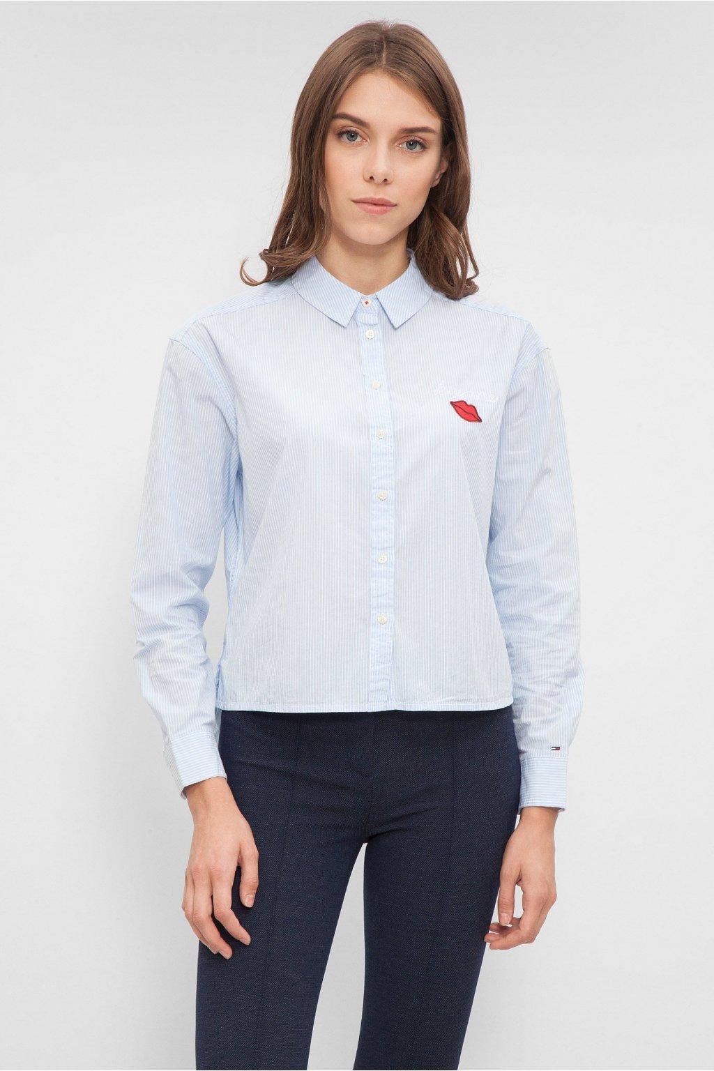 Dámská košile Tommy Hilfiger DW0DW02728