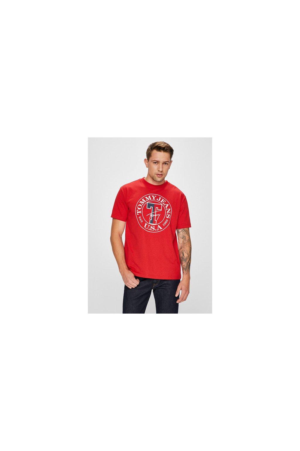 Pánské tričko Tommy Hilfiger DM0DM05127