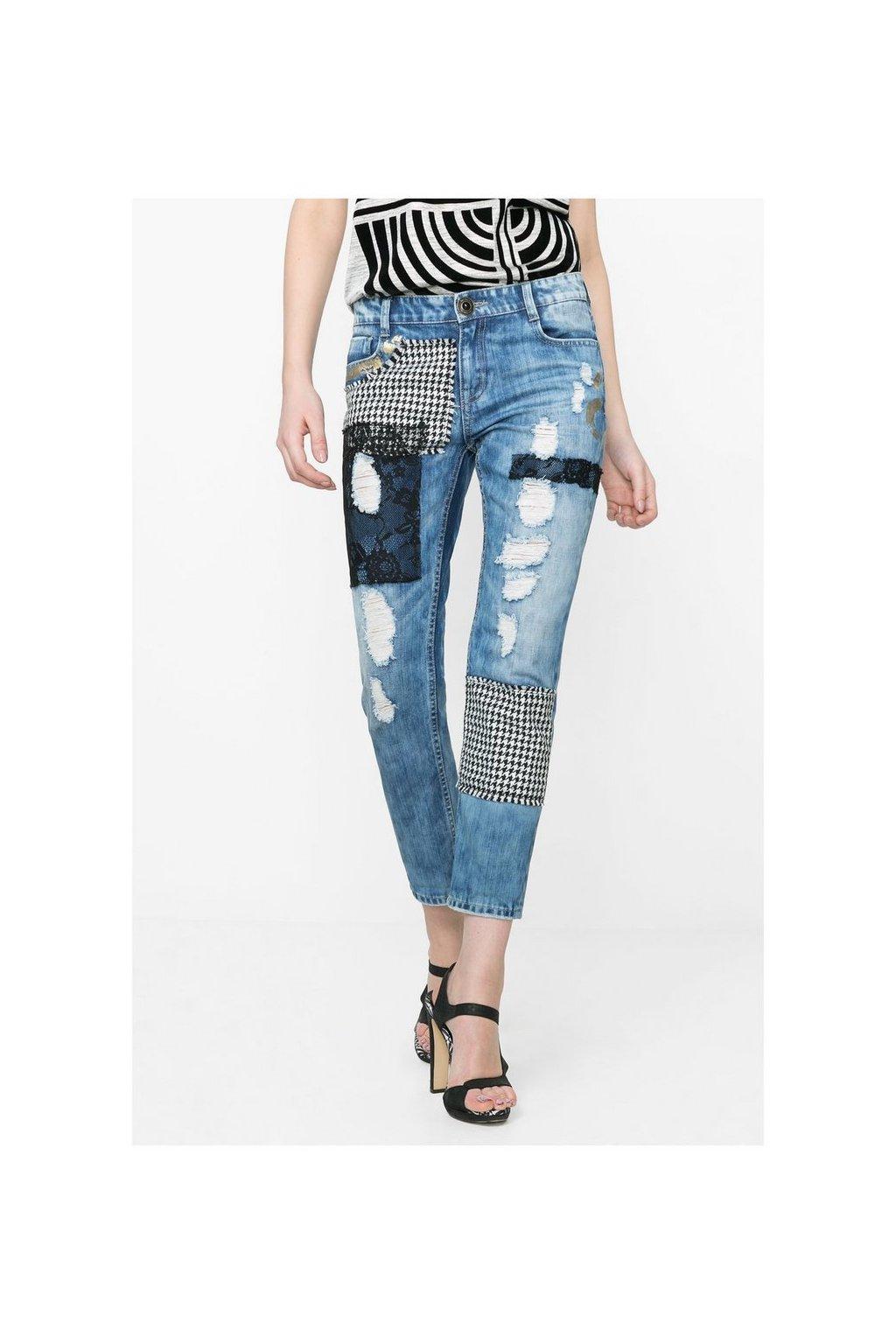 Dámské kalhoty Desigual 57D26D1