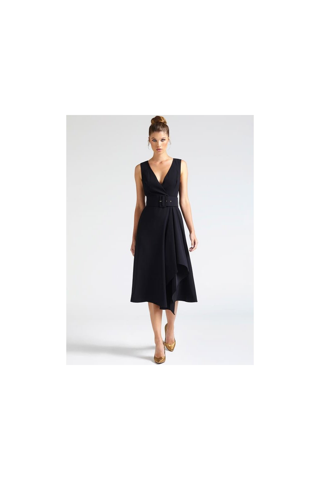 Dámské šaty Guess 84G7668177Z-JBLK