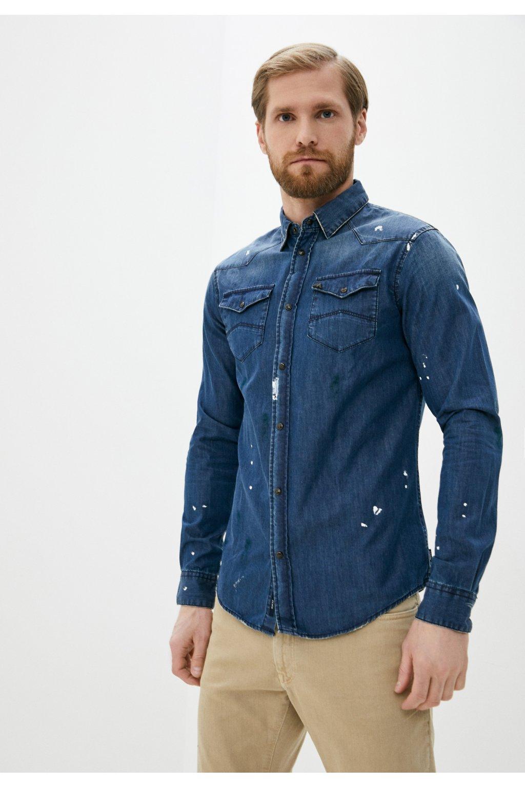 Pánská košile Armani Jeans 3Y6C29 6DBCZ