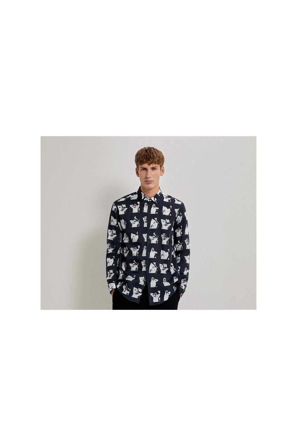 Pánská košile Zara 5897/464/800