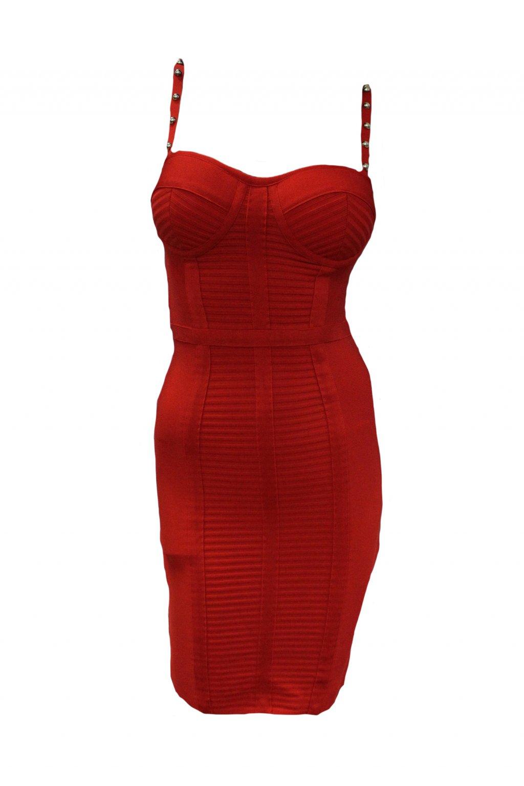 Dámské šaty Guess W92K0Y5422Z-FICR