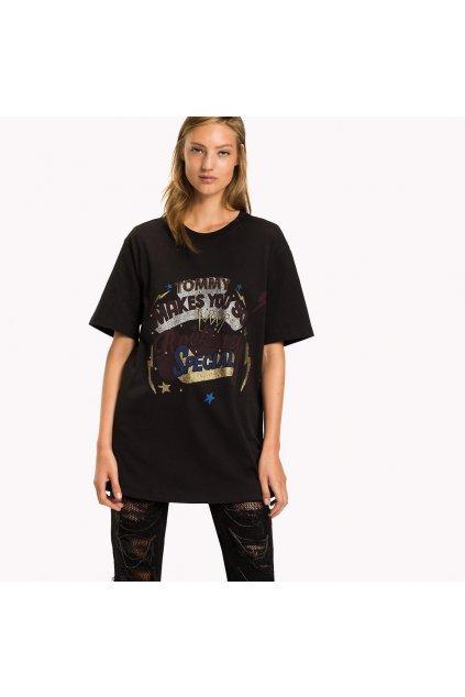 Dámské tričko Tommy Hilfiger RW0RW00466