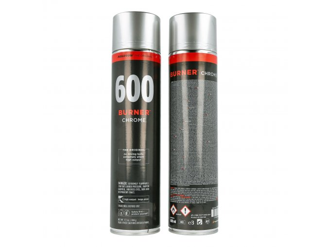 Molotow Burner Chrome 600 ml