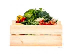 Velká zeleninová bedýnka