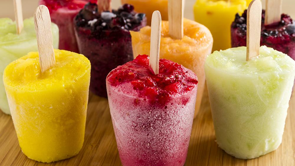 Ovocná zmrzlina