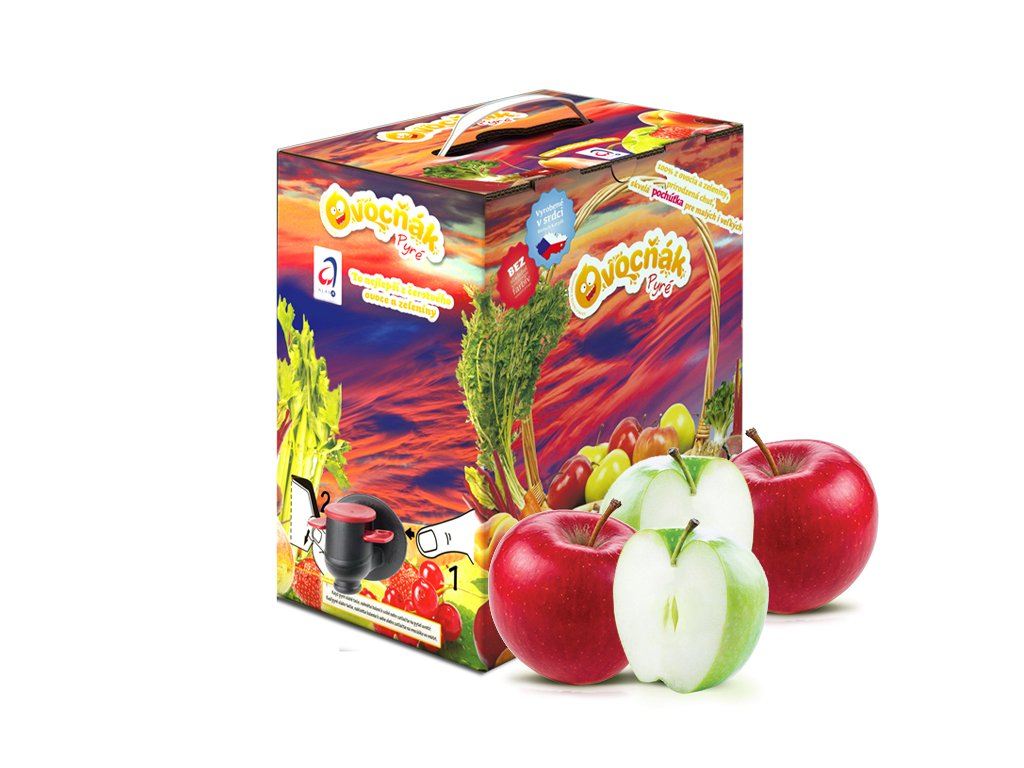 jablko pyré 5l
